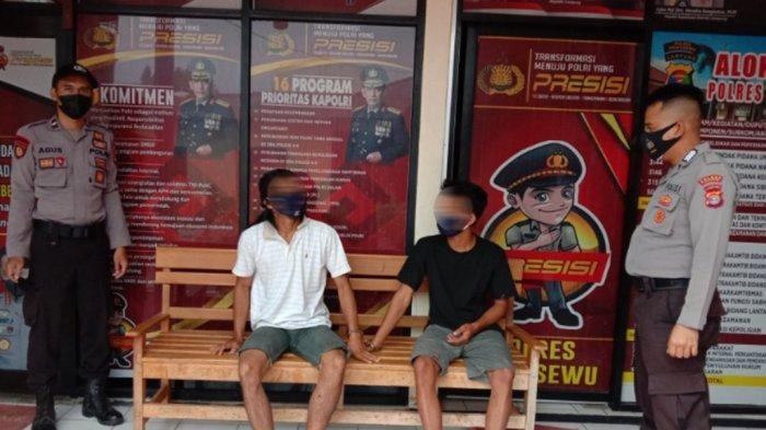 Polres Pringsewu Lampung Amankan Dua Pelaku Curanmor, Keduanya Pernah Beraksi di Tiga Kabupaten