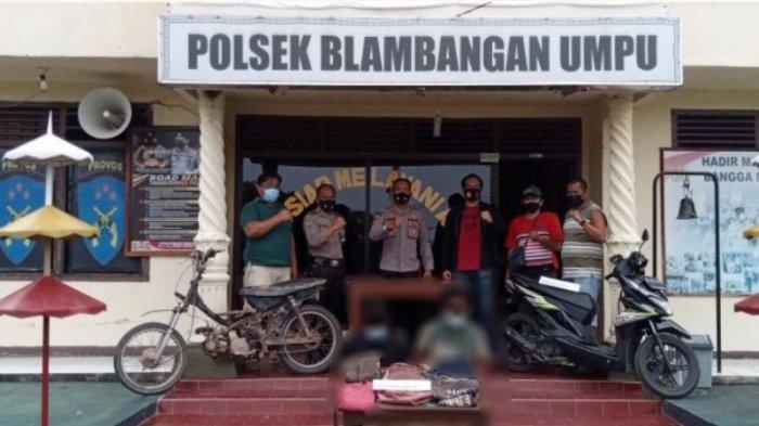 Pelaku Curas di Way Kanan Lampung Diringkus Tanpa Perlawanan