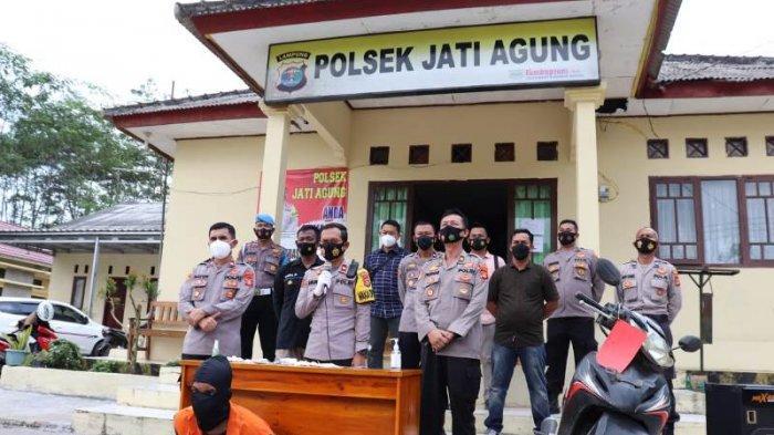 Pelaku Curat Beraksi di Jati Agung Lampung Selatan Dilumpuhkan dengan Timah Panas