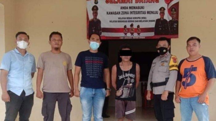 Pelaku Curat di Way Kanan Lampung Diringkus Polisi, Ikut Diamankan Seperangkat Alat Isap Sabu