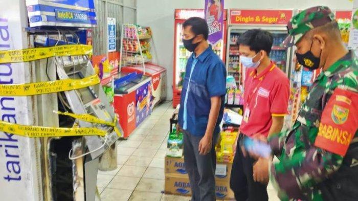 Pelaku Diduga Bobol Mesin ATM di Rajabasa Pakai Mesin Las, Bayu: Banyak Sisa Bahan Bakar