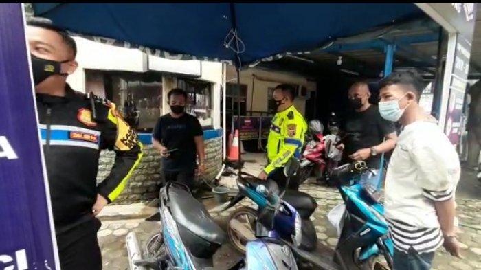 Tersangka Curanmor Dibekuk saat Polisi Patroli