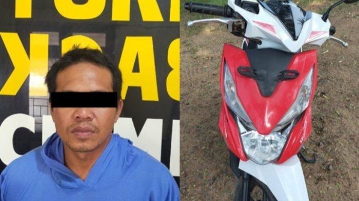 Satu Pelaku Pencurian Alat Kontrol Ekskavator Terlibat Kasus Pencurian Motor