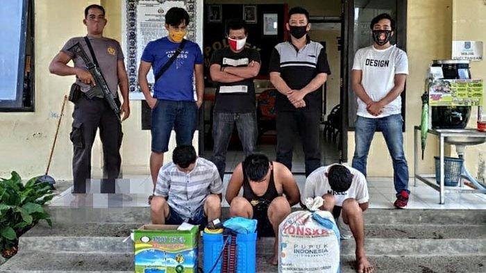 3 Pemuda Pembobol BalaiPekon Bandar Sukabumi Diringkus, 2 Lainnya Masih Buron