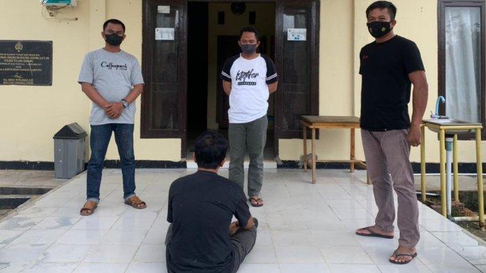 Polsek Gedung Aji Bekuk Pelaku Pencurian di PDAM Simpang Mesir Tulangbawang