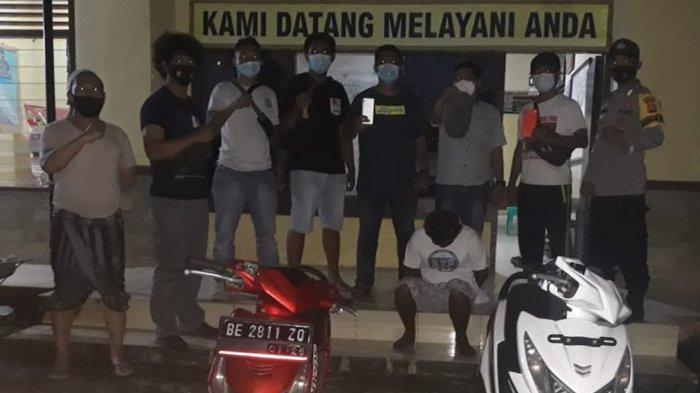 Pelaku Pencurian Motor di Tanggamus Ternyata Residivis di Lampung Selatan