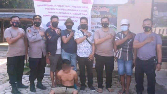 Pelaku Pencurian Sepeda Motor Diamankan Polsek Abung Semuli Lampung Utara