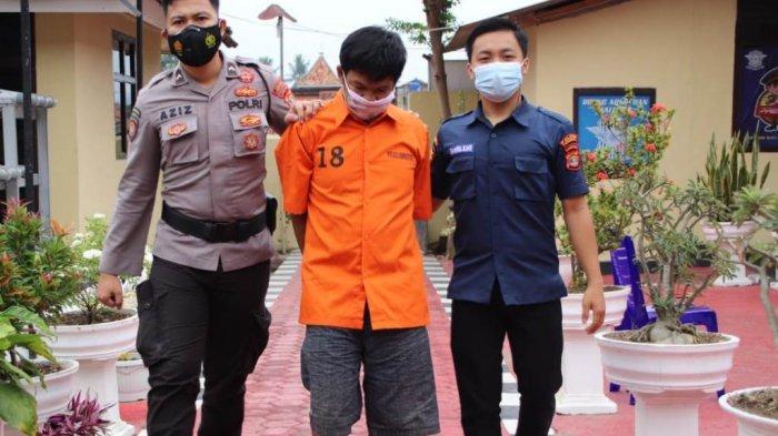 Polres Pringsewu Lampung Amankan Residivis Kasus Pencurian yang Baru Dua Bulan Bebas
