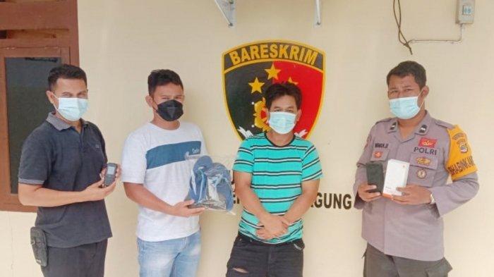Warga Jatiagung Diamankan Polisi Polsek Banjar Agung karena Kasus Penipuan HP