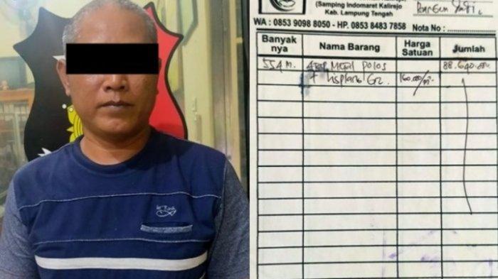 Gelapkan Uang Puluhan Juta, 2 Pria di Padang Ratu Lampung Tengah Kabur ke Jawa