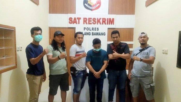 Pelaku Penipuan Warga Tulangbawang Ditangkap Tekab 308, Bawa Kabur Uang Rp 127 Juta