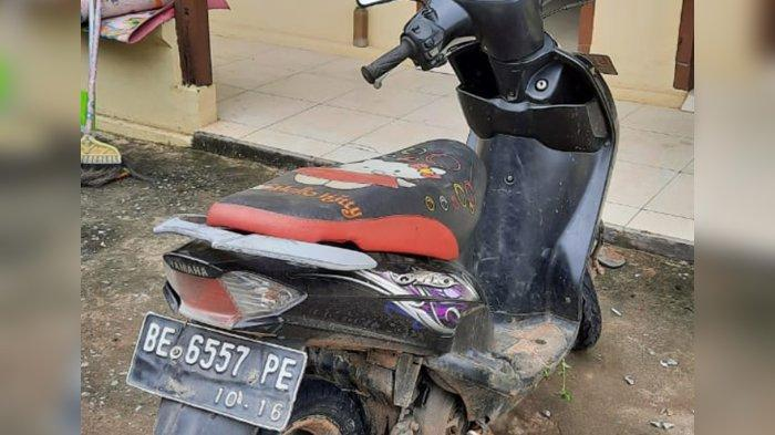 Pelaku Penjambretan HP di Lampung Tengah Tertangkap Gara-gara Motor Tertinggal