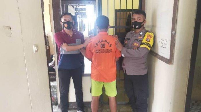 Pelaku Penjambretan Tas Perempuan Muda di Pringsewu Diringkus Polisi di Rumahnya