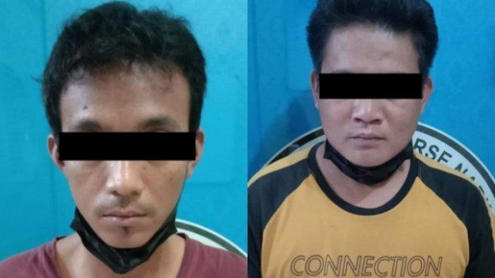 Sempat Diintai Polisi, Dua Pemuda di Lamteng Diciduk karena Transaksi Sabu