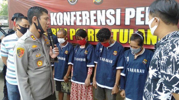 BREAKING NEWS Polres Tuba Ungkap Kasus Human Trafficking dan Postitusi Anak di Bawah Umur