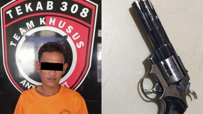 BREAKING NEWS Polisi Ringkus Tersangka Kekerasan dan Penodongan di Lampung Tengah