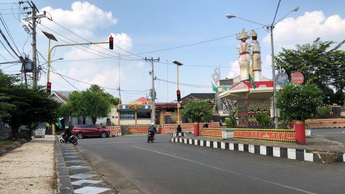 110 Pengendara Melanggar Lalin di Depan Kantor Pemkab Lampung Utara