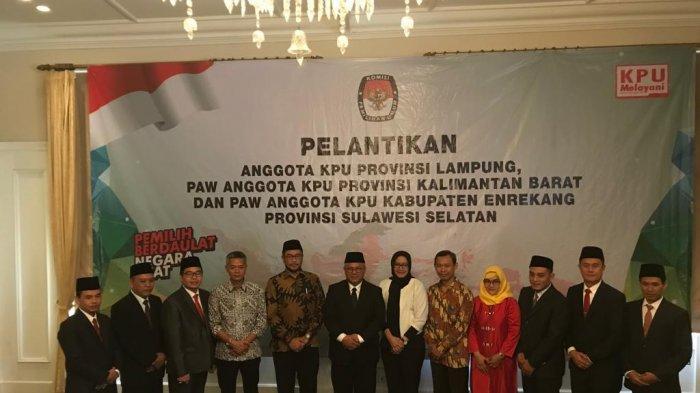 Ketua KPU Lampung Erwan Bustami: Ini Amanah yang Penuh Tanggung Jawab