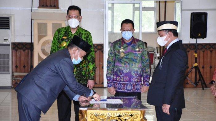 Bupati Lampung Timur Dawam Rahardjo Lantik 88 Pejabat Administrator dan Pengawas