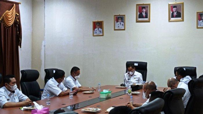 Bupati Mesuji Lampung Saply TH Lantik Empat Camat Baru