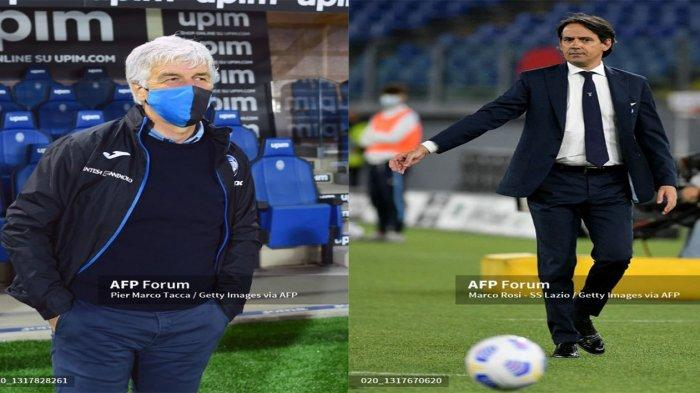 Gian Piero Gasperini dan Simone Inzaghi Dua Kandidat Pelatih Tottenham