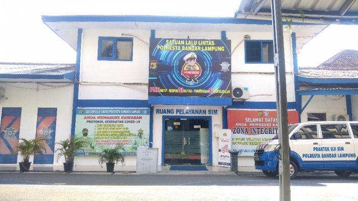 Pelayanan Publik di Polresta Bandar Lampung Berjalan Normal Pasca OTT Mabes Polri