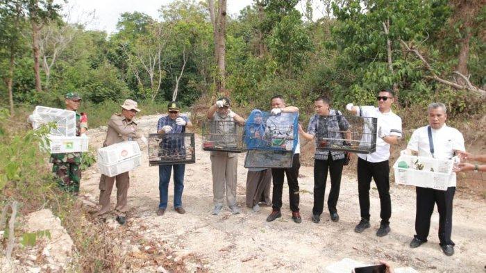 Pelepasan Ratusan Burung Liar di Pulau Tegal Mas: Jaga Kelangsungan Satwa Liar