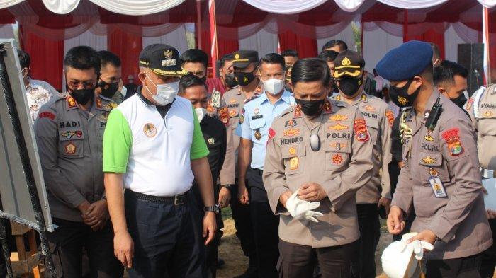 Gedung Polres Tulangbawang Barat Telan Dana Rp 8,5 Miliar, Kapolda Lampung: Jangan Ada yang Bermain