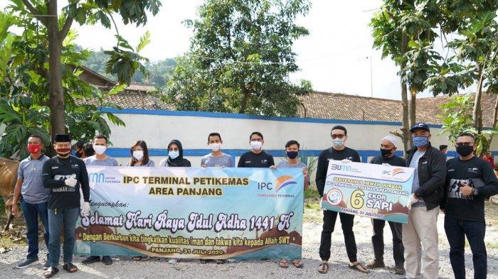 IPC Panjang Laksanakan Pemotongan Hewan Qurban di Hari Raya Idul Adha 1441 H