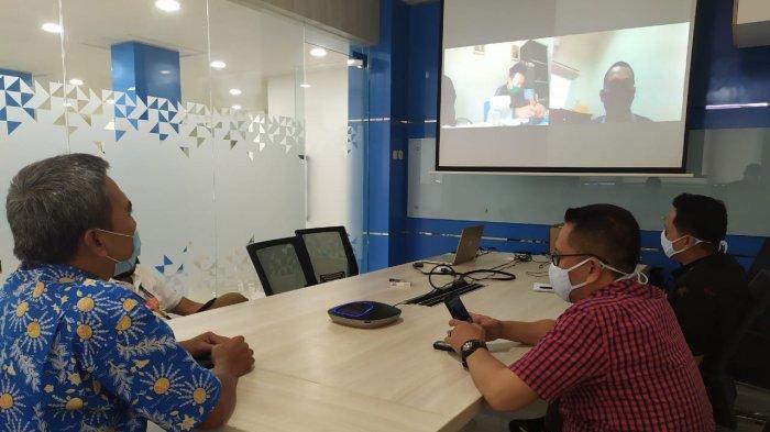 IPC Panjang dan PT PTP Cabang Panjang Lakukan Customer Visit Online