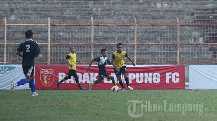 Pemain Badak Lampung FC Diliburkan agar Jalani Latihan di Rumah