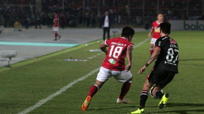 Biodata Hariyanto Panto, Bintang Muda Badak Lampung FC, Pernah Bela Tim Asal Kalteng