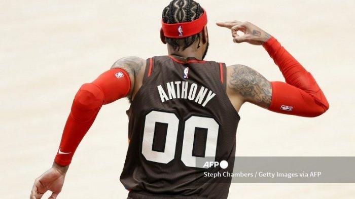 Pemain Basket NBA, Carmelo Anthony Menyatakan Sempat Ingin Merubah Namanya