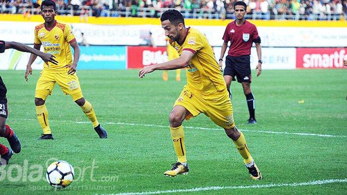 Hasil Akhir Sriwijaya FC vs Borneo FC, Skor 1-0