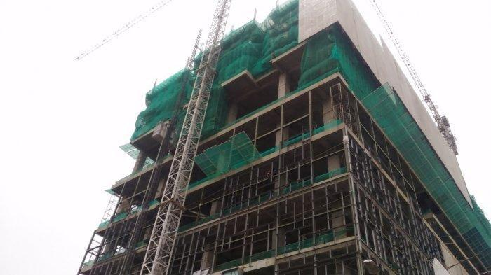 Pembangunan Hotel Tertinggi di Sumatera, Grand Mercure Sudah 60 Persen, Target 2021 Selesai