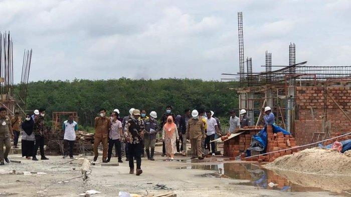 Pembangunan Masjid Agung dan Wisata Religi Mesuji Lampung Dipastikan Rampung Pada 2022 Mendatang
