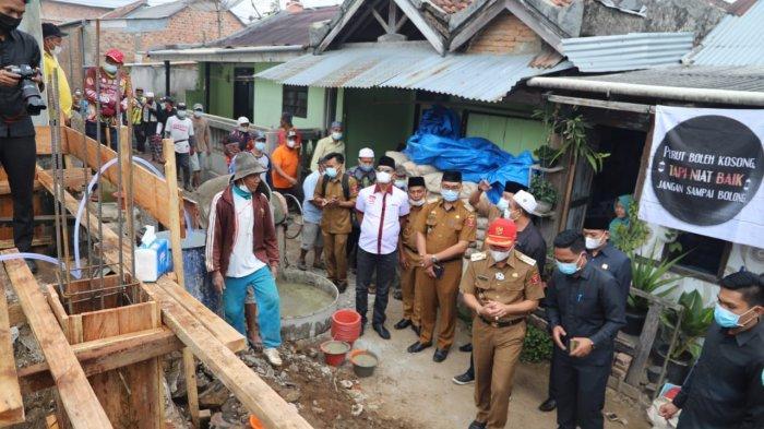 Parosil Bantu Rp 100 Juta untuk Pembangunan Masjid di Way Tenong Lampung Barat
