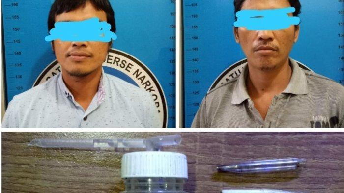 Pembeli dan Penjual Diciduk Polres Lampung Tengah saat Akan Transaksi Sabu