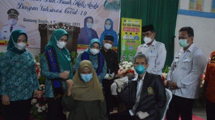 Mardiana Musa Ahmad Canangkan Vaksinasi Covid-19 Bagi Ibu Hamil di Lampung Tengah