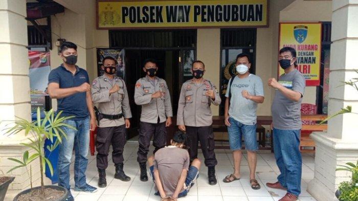 BREAKING NEWS: Pembobol Rumah Warga Diringkus Petugas Polsek Way Pengubuan