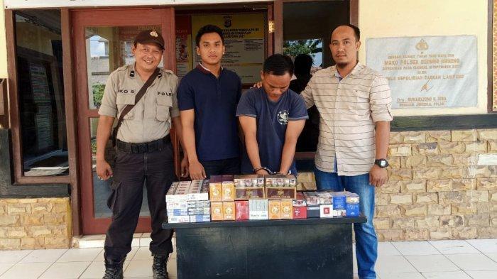 Warga Menggala Ditangkap karena Gasak Rokok Senilai Jutaan Rupiah