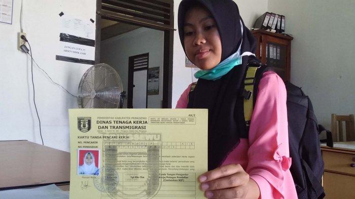 50 Persen Pencari Kerja Asal Pringsewu Pilih Merantau Bekerja ke Pulau Jawa