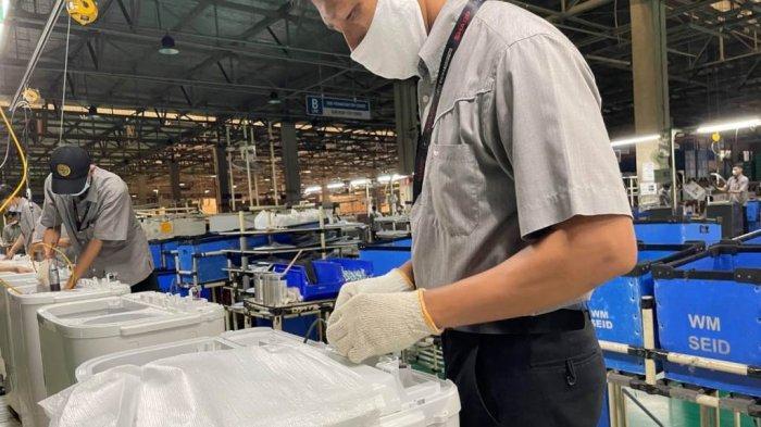 Di Tengah Masa Pandemi Covid-19, Sharp Indonesia Capai Produksi Mesin Cuci Ke-10 Juta