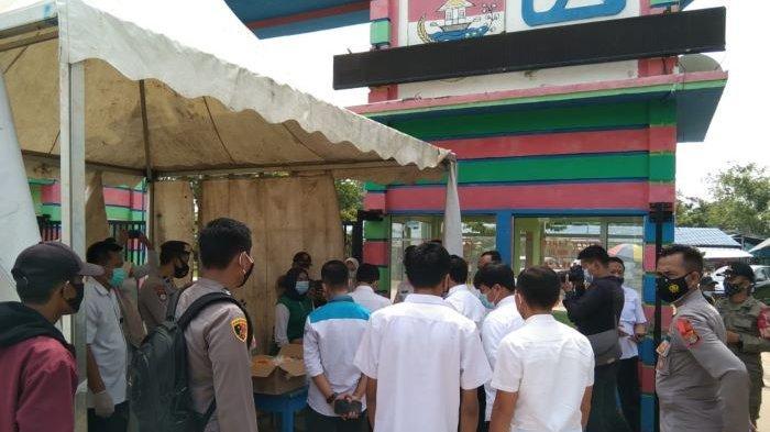 Buka Perdana, Taman Kehati Mesuji Dijaga Ketat Satgas Covid-19