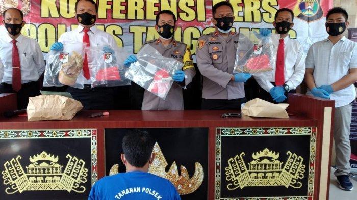 BREAKING NEWS Tewaskan Korbannya, Pelaku Penusukan Ditangkap Polres Tanggamus