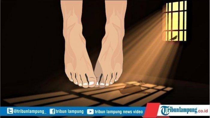 Pemenggal Ayah Kandung di Lampung Tewas Gantung Diri, Masih Terlihat di Sel Pukul 03.00 WIB