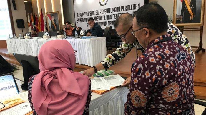 Malam Ini KPU Lampung Presentasi di Rapat Pleno Terbuka Rekapitulasi Hasil Penghitungan Suara KPU RI