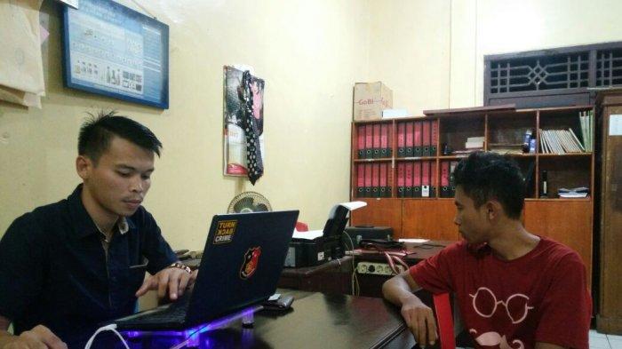Sabu Jatuh Saat Lari, 2 Pemuda Ini Ditangkap