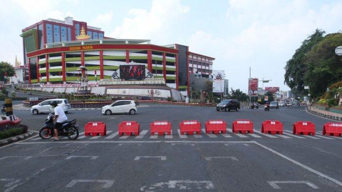 PPKM di Bandar Lampung Diperpanjang 2 Pekan, Petugas Sekat Lagi Pusat Kota