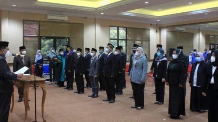 Pemkab Lampung Selatan Lantik 8 Pejabat Eselon III dan 12 Pejabat Eselon IV
